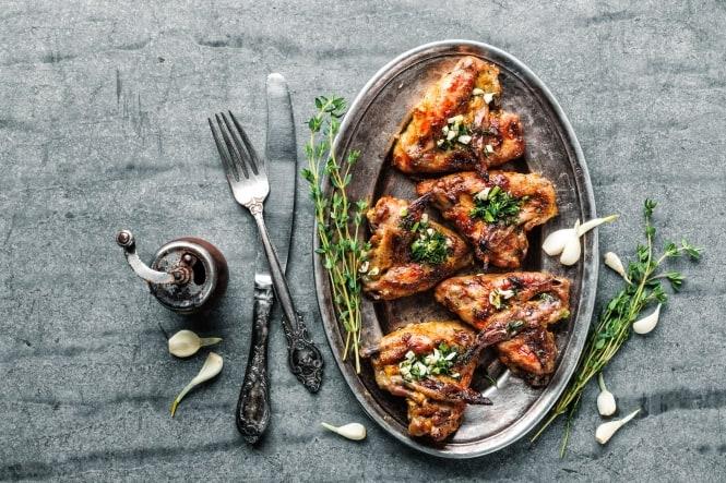 Græsk inspireret kylling